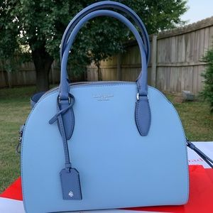 Kate spade large dome satchel Reiley crossbody